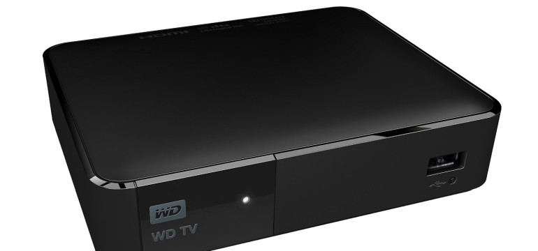 WD TV Lettore multimediale